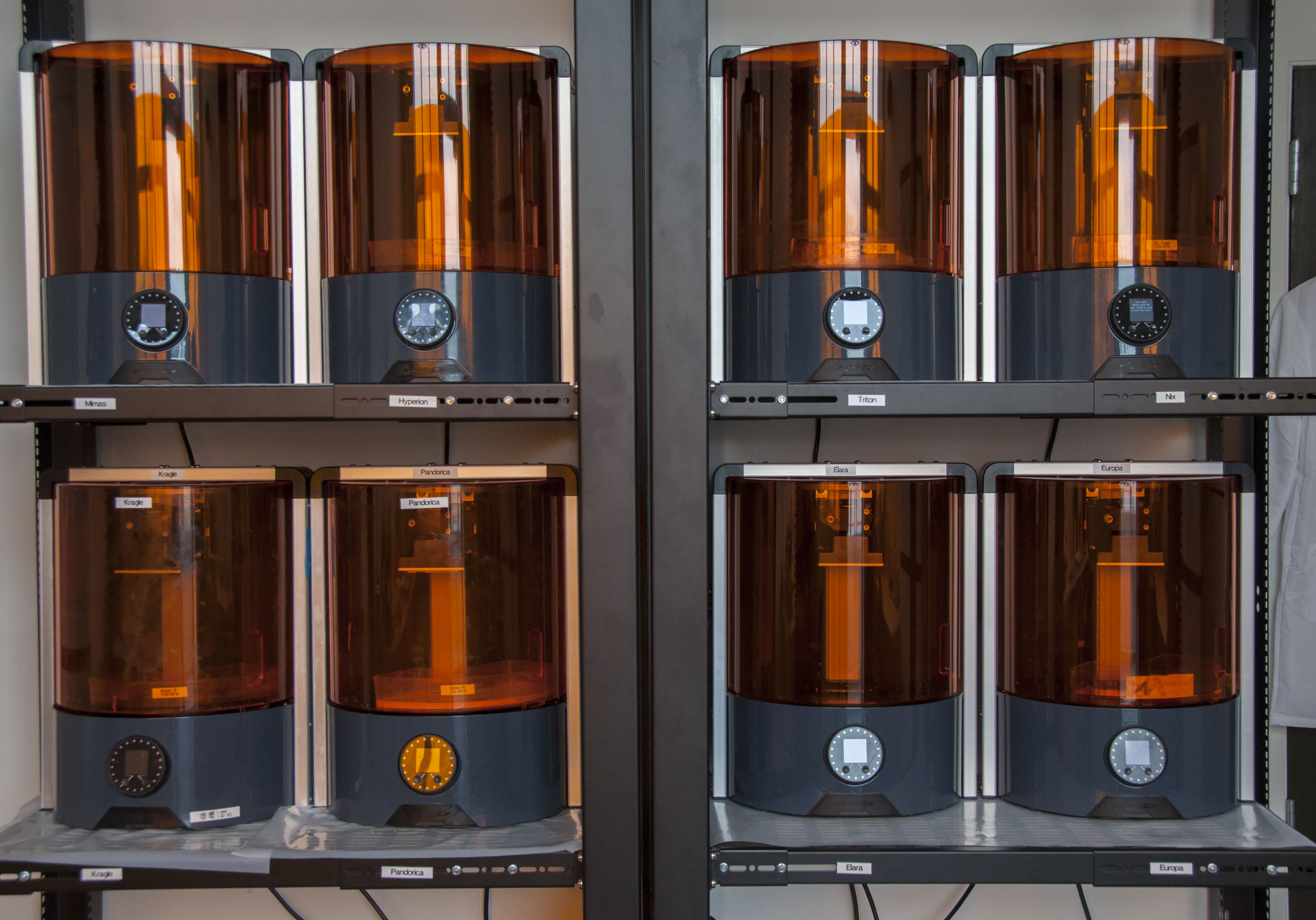 Ember 3D Printer ready for production