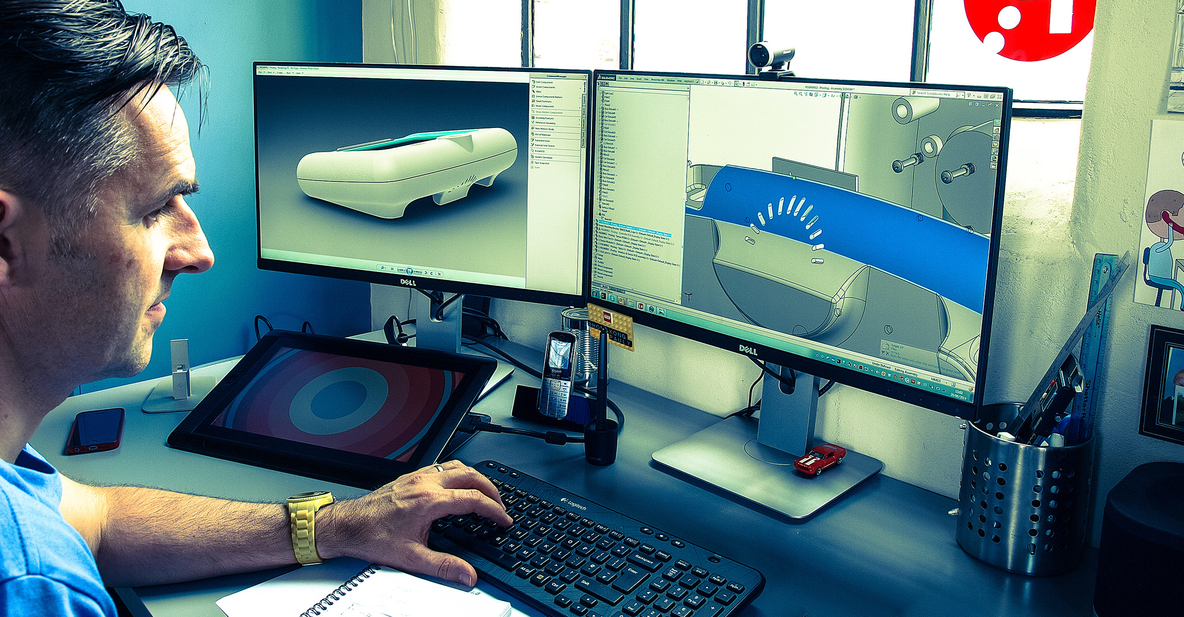 Product Resolutions CAD process