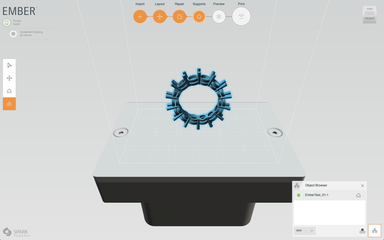 Eternity Ring in Autodesk Print Studio